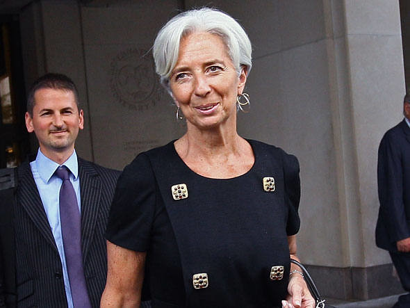 European Central Bank President Christine Lagarde Sees Rebound for EU Economy Before 2021 Ends